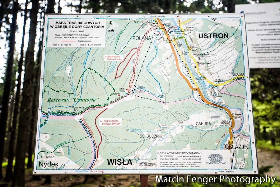 Wycieczka czerwonym szlakiem na Czantorię